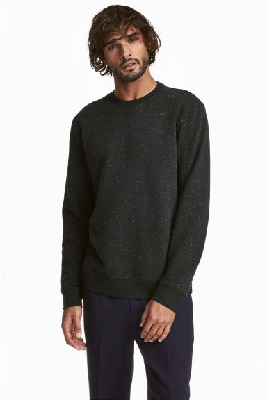 Sweat - Noir -  | H&M FR