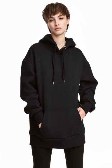 Hooded top - Black -  | H&M