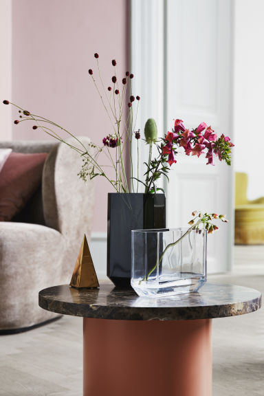 Glass vase - Clear glass - Home All | H&M IE