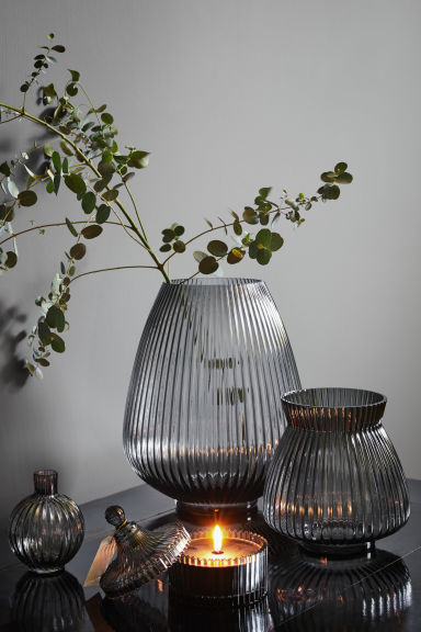 Bougie parfumée - Gris anthracite/bergamote - Home All | H&M FR