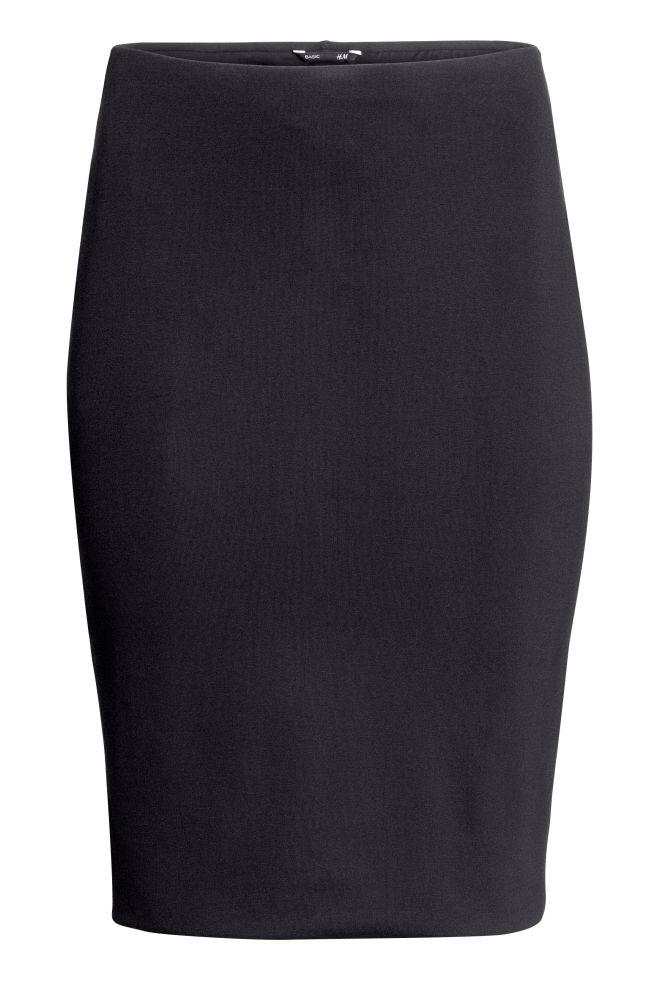 Úzká sukně - Černá - ŽENY  6b54b6432c