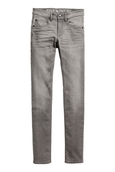 Super Skinny Jeans - Grey - Men | H&M GB