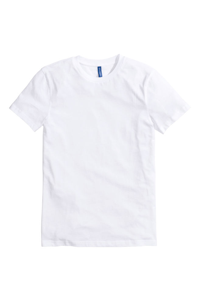 f95e3dfcd34 Basic T-shirt - White - Men