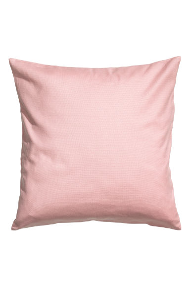 Canvas cushion cover - Pink - Home All | H&M GB