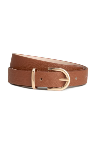 Narrow belt - Brown - Ladies | H&M