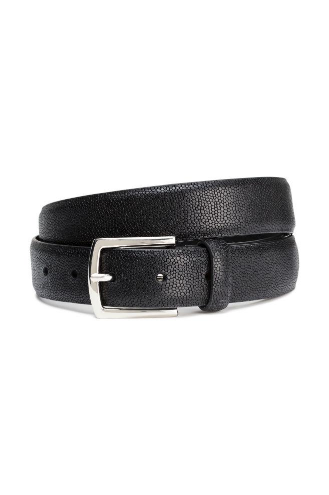 b45edd315c82 Bőr öv - Fekete - FÉRFI | H&M ...