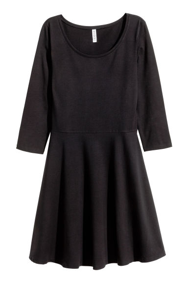 Jersey dress - Black - Ladies | H&M