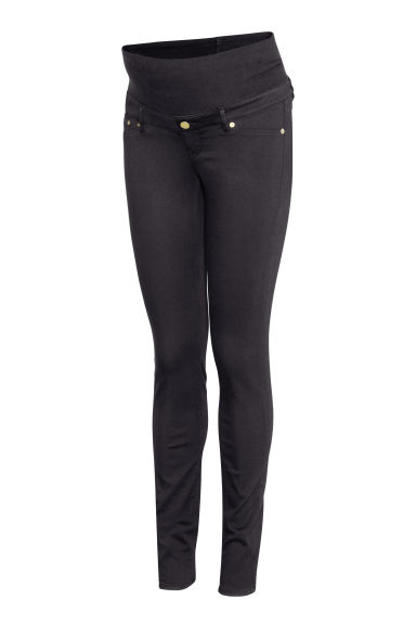 MAMA Superstretch trousers - Black - Ladies | H&M