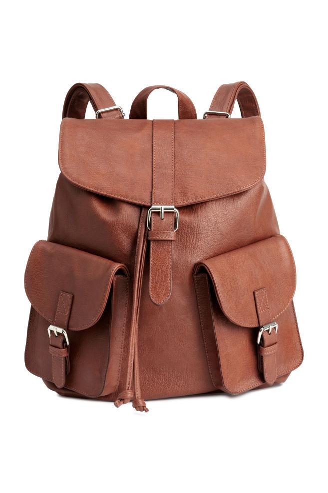b3f3cb9efe Backpack - Cognac brown - Ladies