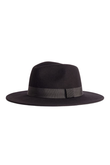 Wool hat - Black - Ladies | H&M IE