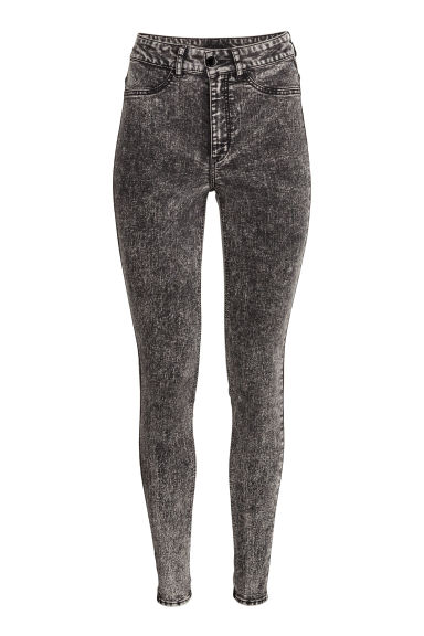Super Skinny High Jeans - Nearly black - FEMME | H&M FR