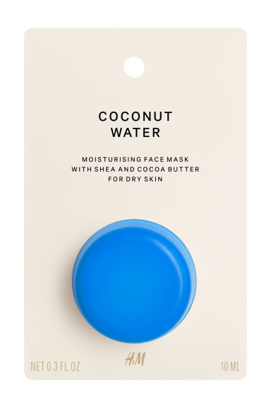 Maschera viso pelle secca - Coconut water - DONNA | H&M IT