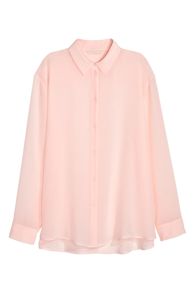 7ea256cacd1c70 Silk shirt - Light pink - Ladies