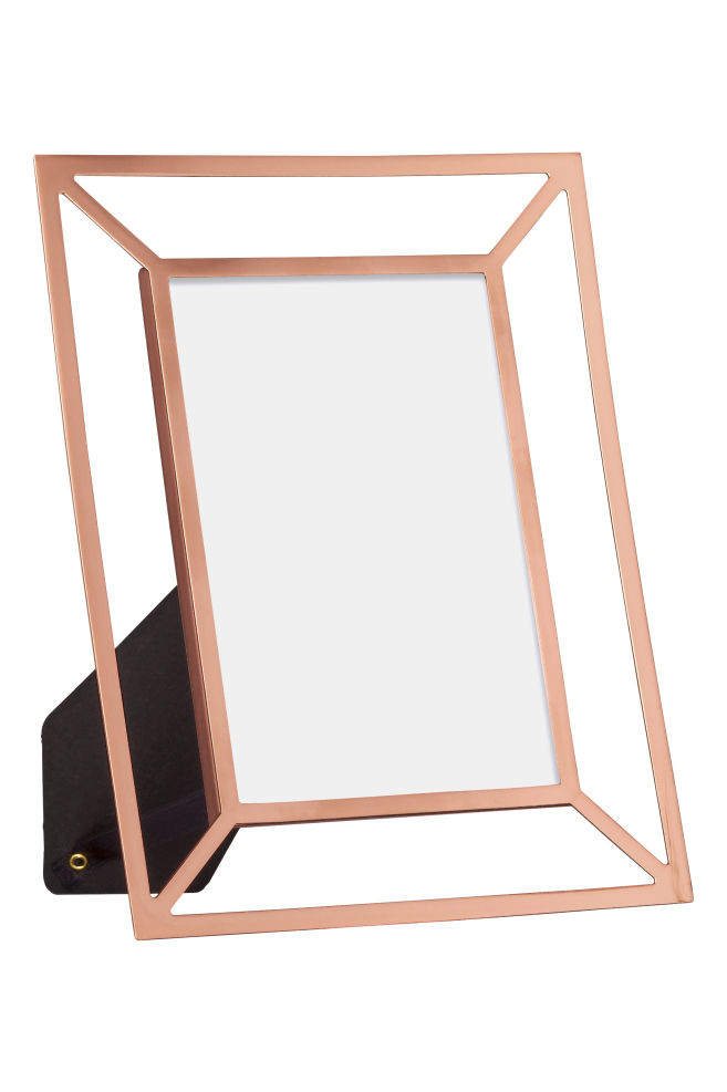 Metal photo frame - Copper - Home All | H&M GB