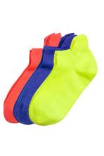 6cef0d8d043 Lot de 3 paires de chaussettes - Jaune fluo - FEMME