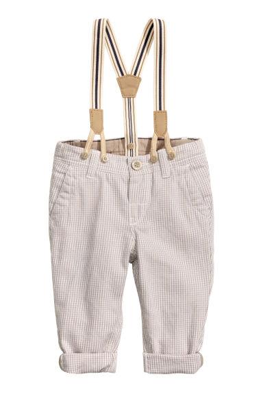 risparmia fino al 60% rivenditore di vendita scegli ufficiale Pantaloni con bretelle
