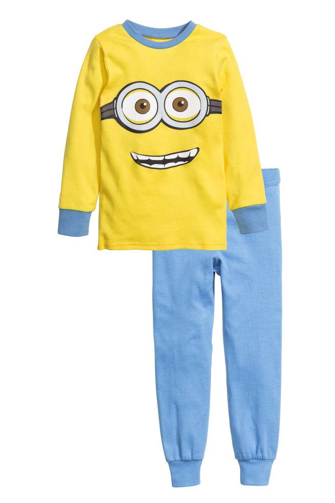2db82b12e Pijama em jersey - Amarelo Minions - CRIANÇA