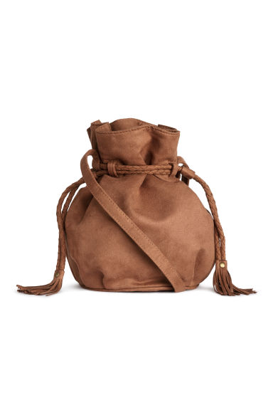 Small bucket bag - Cognac brown - Ladies | H&M GB