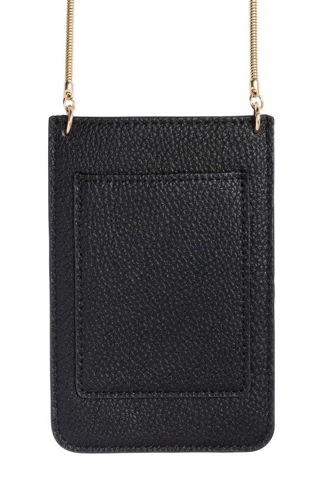 48d850535375 Mobiltelefon-táska - Fekete - NŐI   H&M ...
