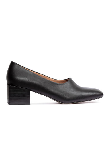 Court shoes with block heels - Black - Ladies | H&M GB