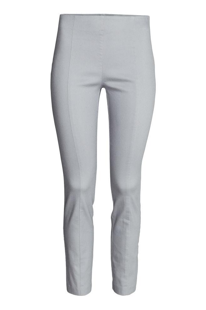 1962c8db632f3c Superstretch treggings - Light grey - Ladies | H&M ...