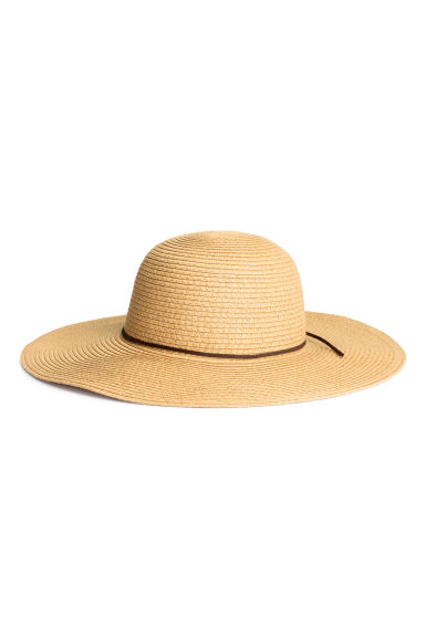 Straw hat - Natural - Ladies | H&M GB