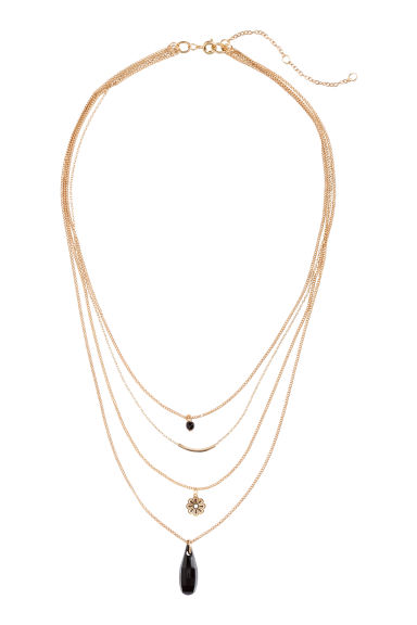 Multistrand necklace - Gold -  | H&M CN