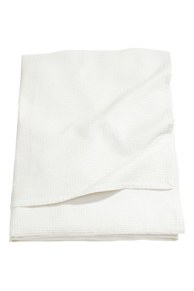 Waffled King/queen Bedspread - White - Home All | H&M US