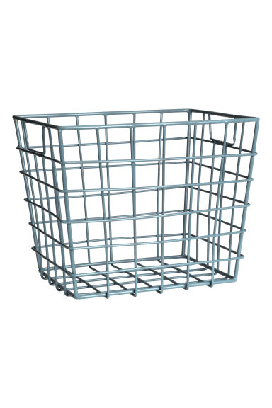 Storage Basket - Dusky blue - Home All | H&M US