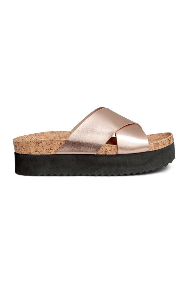 dbcc74737c6a Platform sandals - Rose gold - Ladies