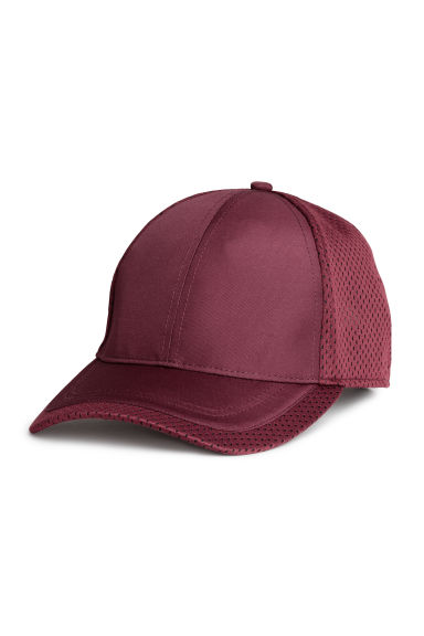 Mesh cap - Burgundy - Men | H&M GB