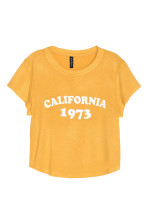 Mustard yellow/California