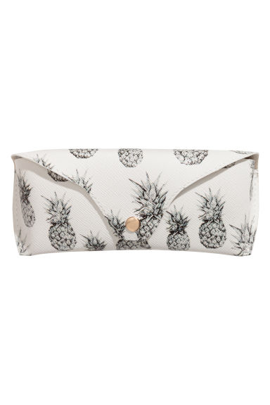 Glasses case - White/Patterned - Ladies | H&M