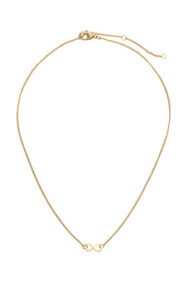 Necklace with a pendant - Gold -  | H&M GB