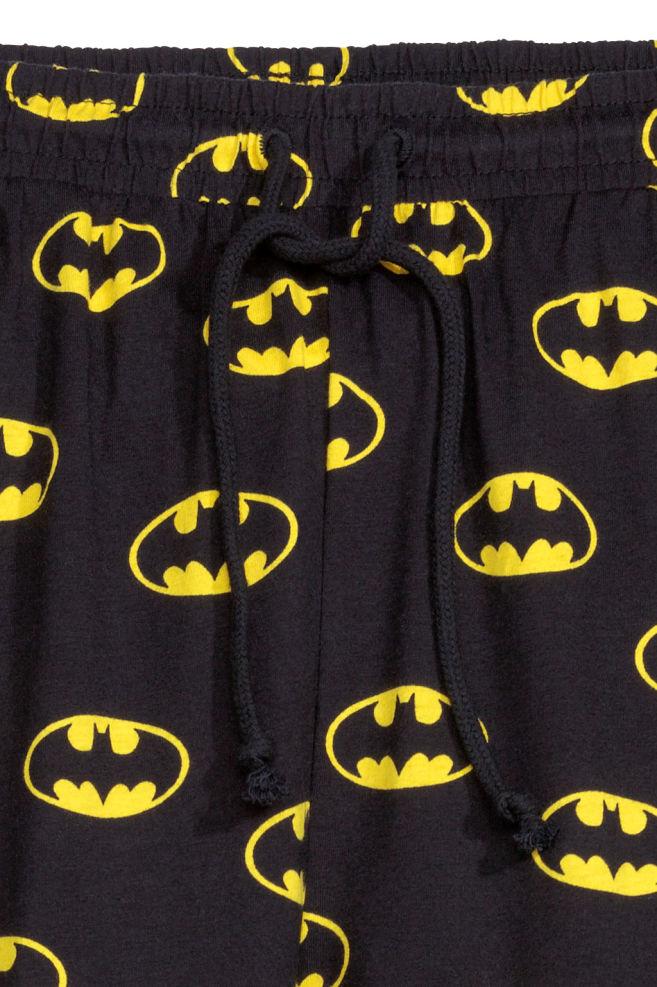 ... Mintás jogger - Fekete Batman - NŐI  c1df8467a4