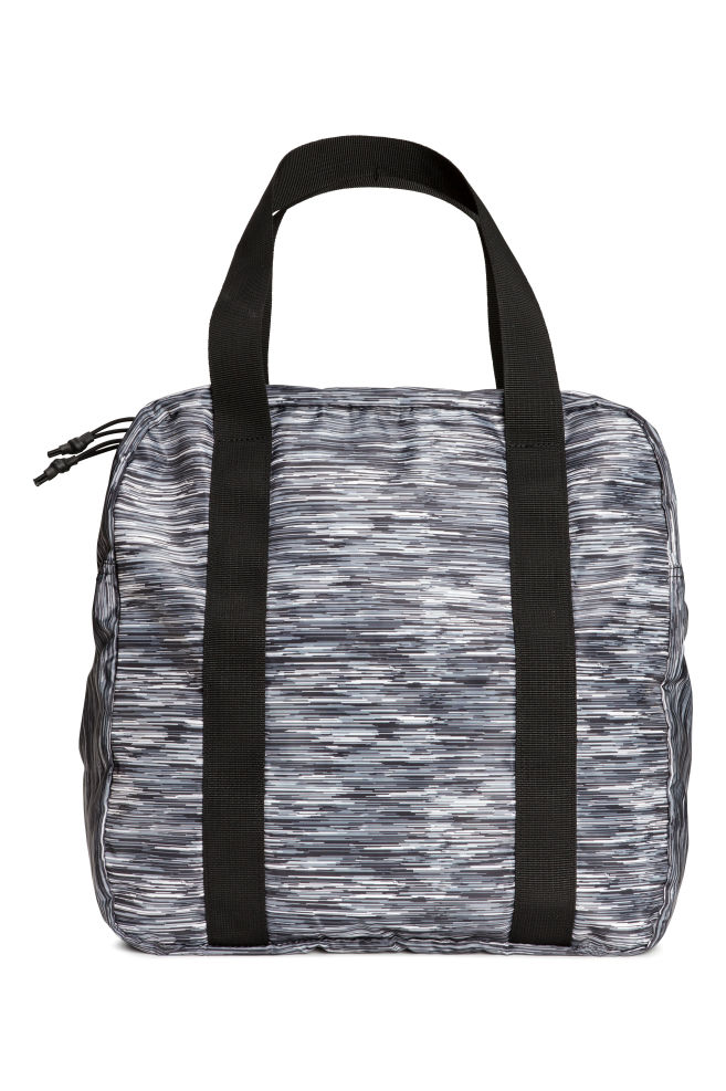c80de7c847b1 Sports bag - Grey Patterned - Ladies