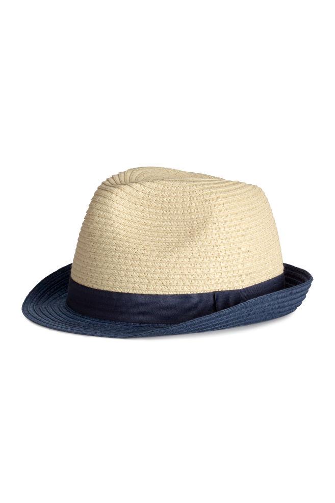 Cappello in paglia - Naturale - BAMBINO  1f8b51fa83c2
