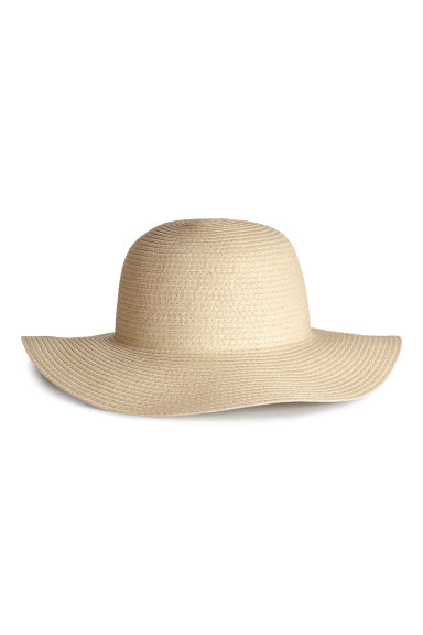 Straw hat - Natural - Ladies | H&M IE