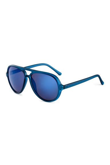 lunettes de soleil bleu homme h m fr. Black Bedroom Furniture Sets. Home Design Ideas