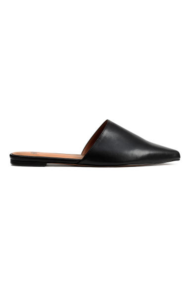 Flat mules - Black - Ladies | H&M GB