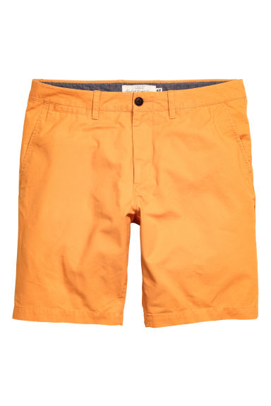 Chino shorts - Orange - Men | H&M CN