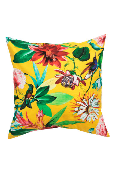 Patterned cushion cover - Yellow - Home All | H&M GB