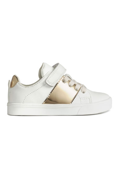 Trainers - White/Gold - Kids | H&M GB