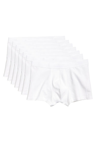 7-pack trunks - White -  | H&M CN