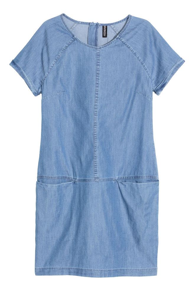 8fe61a686a89 ... Džínsové šaty - džínsovomodrá -