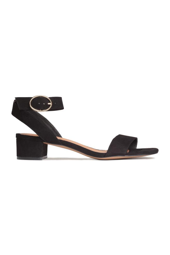 16c6e8376a8 Block-heeled sandals
