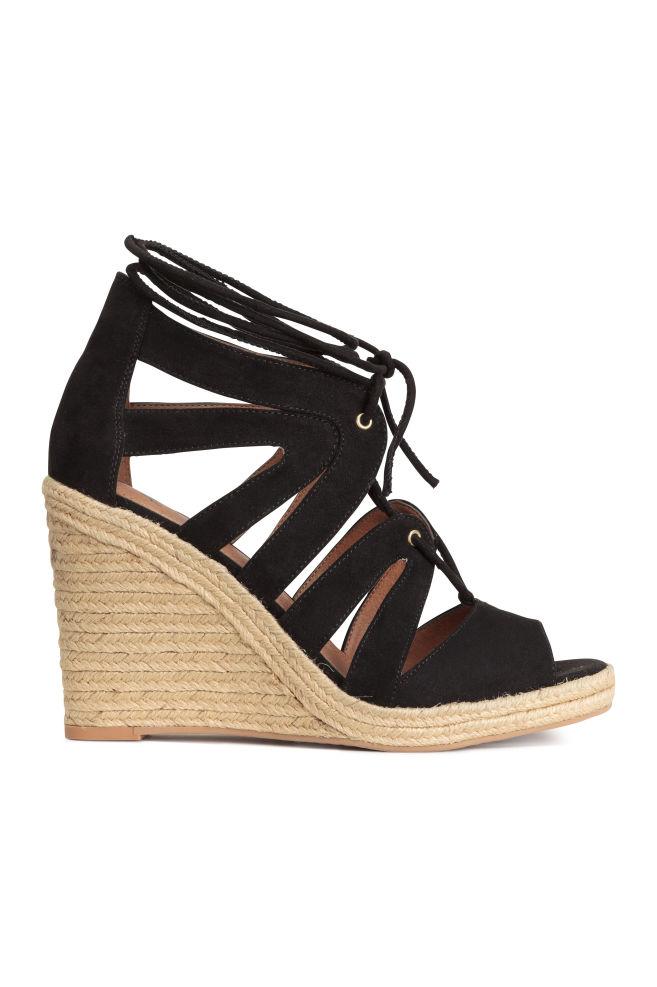 bb273c3c2ea Wedge-heel sandals