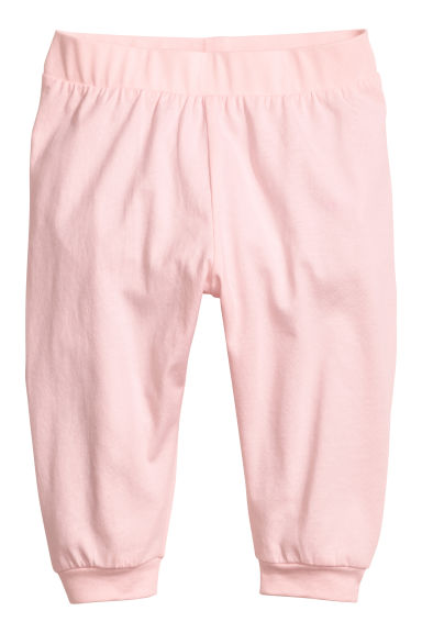 Jersey trousers - Light pink - Kids | H&M CN