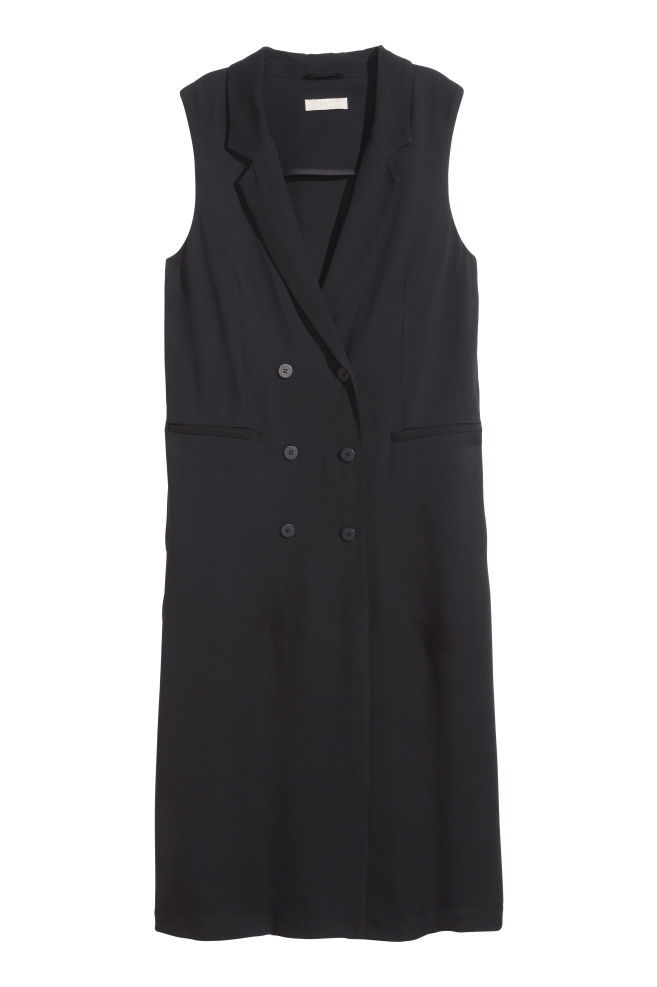 b6769aaf8e53 Pinafore dress - Black - Ladies | H&M ...