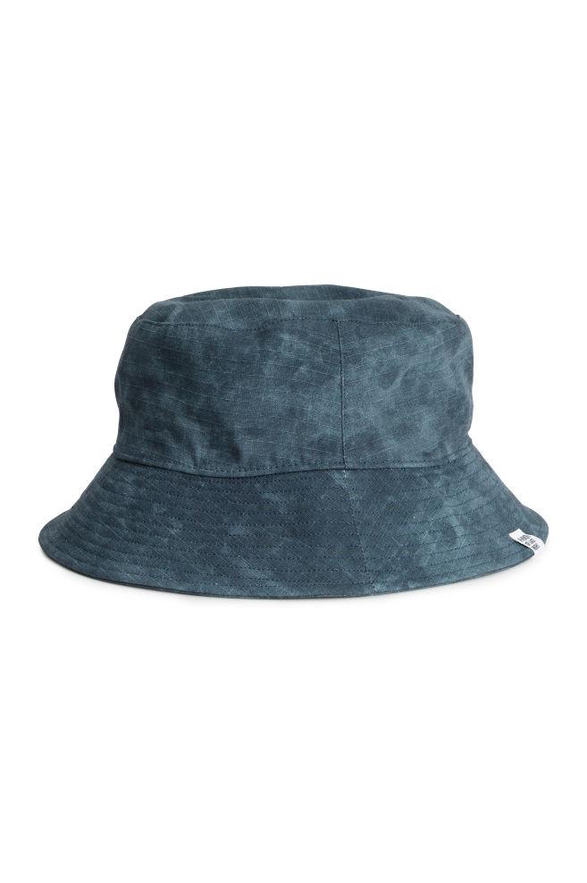 Gorro de pescador - Azul oscuro - HOMBRE  e79d6530e04